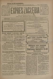 Expres Zagłębia : jedyny organ demokratyczny niezależny woj. kieleckiego. R.4, nr 104 (19 kwietnia 1929)