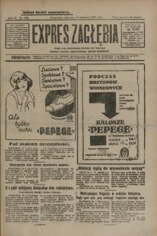 Expres Zagłębia : jedyny organ demokratyczny niezależny woj. kieleckiego. R.4, nr 106 (21 kwietnia 1929)
