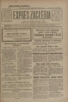 Expres Zagłębia : jedyny organ demokratyczny niezależny woj. kieleckiego. R.4, nr 107 (22 kwietnia 1929)