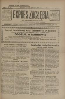 Expres Zagłębia : jedyny organ demokratyczny niezależny woj. kieleckiego. R.4, nr 110 (25 kwietnia 1929)
