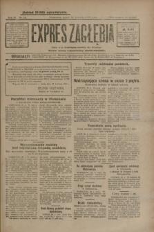 Expres Zagłębia : jedyny organ demokratyczny niezależny woj. kieleckiego. R.4, nr 111 (26 kwietnia 1929)