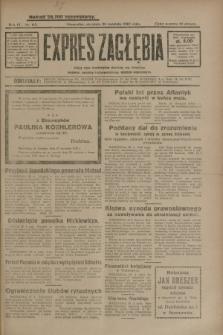 Expres Zagłębia : jedyny organ demokratyczny niezależny woj. kieleckiego. R.4, nr 113 (28 kwietnia 1929)
