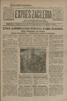 Expres Zagłębia : jedyny organ demokratyczny niezależny woj. kieleckiego. R.4, nr 123 (9 maja 1929)