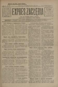 Expres Zagłębia : jedyny organ demokratyczny niezależny woj. kieleckiego. R.4, nr 126 (13 maja 1929)