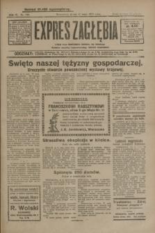 Expres Zagłębia : jedyny organ demokratyczny niezależny woj. kieleckiego. R.4, nr 130 (17 maja 1929)