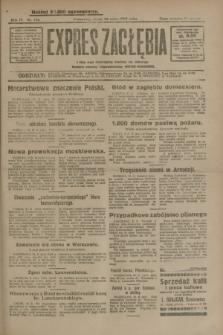 Expres Zagłębia : jedyny organ demokratyczny niezależny woj. kieleckiego. R.4, nr 134 (22 maja 1929)