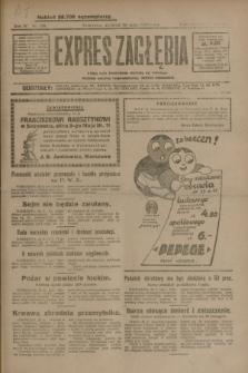 Expres Zagłębia : jedyny organ demokratyczny niezależny woj. kieleckiego. R.4, nr 138 (26 maja 1929)