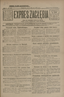 Expres Zagłębia : jedyny organ demokratyczny niezależny woj. kieleckiego. R.4, nr 140 (28 maja 1929)