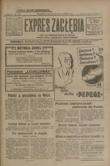 Expres Zagłębia : jedyny organ demokratyczny niezależny woj. kieleckiego. R.4, nr 144 (2 czerwca 1929)
