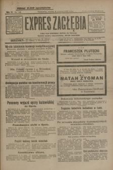 Expres Zagłębia : jedyny organ demokratyczny niezależny woj. kieleckiego. R.4, nr 146 (4 czerwca 1929)