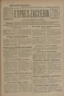 Expres Zagłębia : jedyny organ demokratyczny niezależny woj. kieleckiego. R.4, nr 147 (5 czerwca 1929)