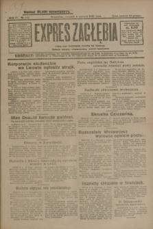 Expres Zagłębia : jedyny organ demokratyczny niezależny woj. kieleckiego. R.4, nr 148 (6 czerwca 1929)