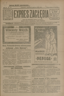 Expres Zagłębia : jedyny organ demokratyczny niezależny woj. kieleckiego. R.4, nr 151 (9 czerwca 1929)