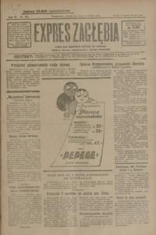 Expres Zagłębia : jedyny organ demokratyczny niezależny woj. kieleckiego. R.4, nr 156 (14 czerwca 1929)