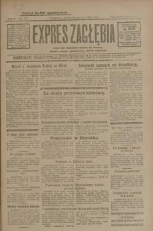 Expres Zagłębia : jedyny organ demokratyczny niezależny woj. kieleckiego. R.4, nr 157 (15 czerwca 1929)