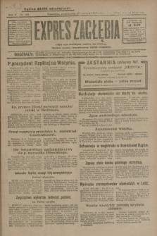 Expres Zagłębia : jedyny organ demokratyczny niezależny woj. kieleckiego. R.4, nr 159 (17 czerwca 1929)