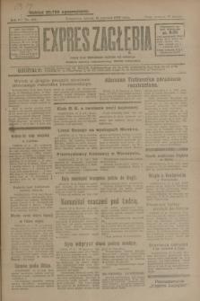 Expres Zagłębia : jedyny organ demokratyczny niezależny woj. kieleckiego. R.4, nr 160 (18 czerwca 1929)