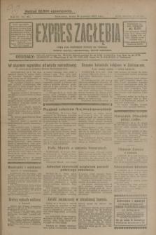 Expres Zagłębia : jedyny organ demokratyczny niezależny woj. kieleckiego. R.4, nr 161 (19 czerwca 1929)