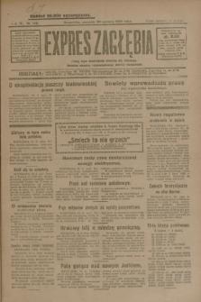 Expres Zagłębia : jedyny organ demokratyczny niezależny woj. kieleckiego. R.4, nr 162 (20 czerwca 1929)
