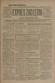 Expres Zagłębia : jedyny organ demokratyczny niezależny woj. kieleckiego. R.4, nr 163 (21 czerwca 1929)