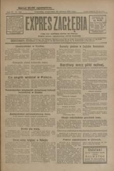 Expres Zagłębia : jedyny organ demokratyczny niezależny woj. kieleckiego. R.4, nr 166 (24 czerwca 1929)