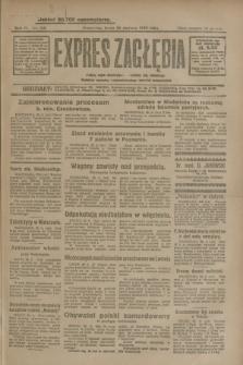 Expres Zagłębia : jedyny organ demokratyczny niezależny woj. kieleckiego. R.4, nr 168 (26 czerwca 1929)
