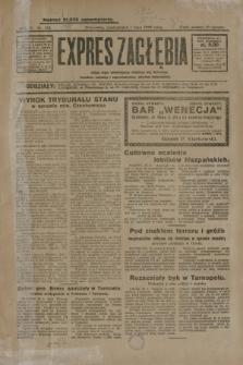 Expres Zagłębia : jedyny organ demokratyczny niezależny woj. kieleckiego. R.4, nr 172 (1 lipca 1929)