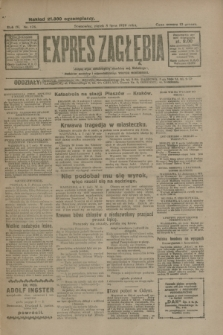 Expres Zagłębia : jedyny organ demokratyczny niezależny woj. kieleckiego. R.4, nr 176 (5 lipca 1929)