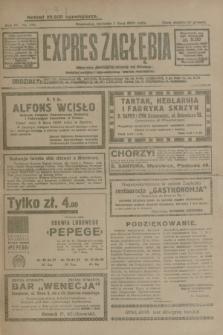Expres Zagłębia : jedyny organ demokratyczny niezależny woj. kieleckiego. R.4, nr 178 (7 lipca 1929)