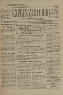 Expres Zagłębia : jedyny organ demokratyczny niezależny woj. kieleckiego. R.4, nr 179 (8 lipca 1929)