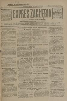 Expres Zagłębia : jedyny organ demokratyczny niezależny woj. kieleckiego. R.4, nr 181 (10 lipca 1929)