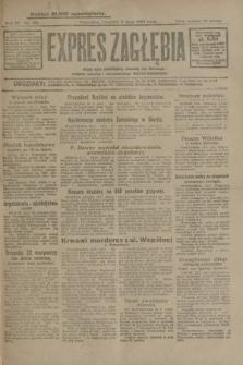 Expres Zagłębia : jedyny organ demokratyczny niezależny woj. kieleckiego. R.4, nr 182 (11 lipca 1929)