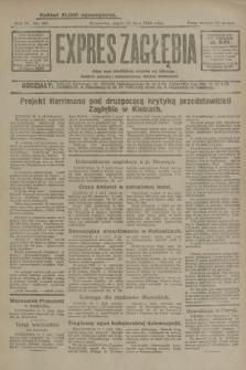 Expres Zagłębia : jedyny organ demokratyczny niezależny woj. kieleckiego. R.4, nr 183 (12 lipca 1929)