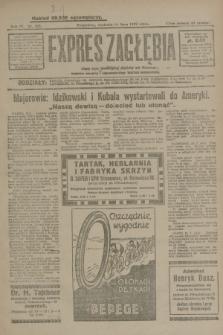 Expres Zagłębia : jedyny organ demokratyczny niezależny woj. kieleckiego. R.4, nr 185 (14 lipca 1929)
