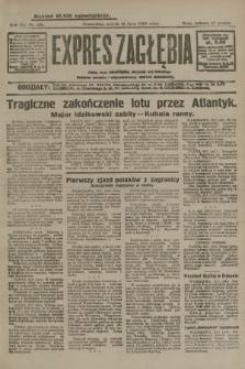 Expres Zagłębia : jedyny organ demokratyczny niezależny woj. kieleckiego. R.4, nr 186 (16 lipca 1929)