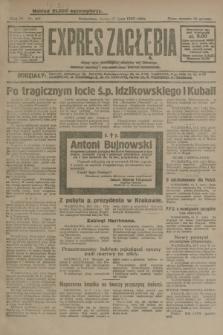 Expres Zagłębia : jedyny organ demokratyczny niezależny woj. kieleckiego. R.4, nr 187 (17 lipca 1929)