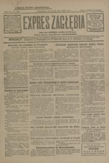 Expres Zagłębia : jedyny organ demokratyczny niezależny woj. kieleckiego. R.4, nr 198 (30 lipca 1929)