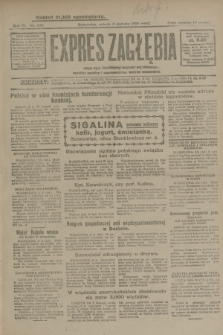 Expres Zagłębia : jedyny organ demokratyczny niezależny woj. kieleckiego. R.4, nr 202 (3 sierpnia 1929)