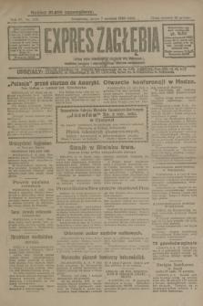 Expres Zagłębia : jedyny organ demokratyczny niezależny woj. kieleckiego. R.4, nr 205 (7 sierpnia 1929)