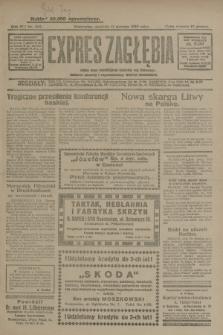 Expres Zagłębia : jedyny organ demokratyczny niezależny woj. kieleckiego. R.4, nr 209 (11 sierpnia 1929)