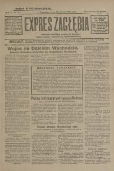 Expres Zagłębia : jedyny organ demokratyczny niezależny woj. kieleckiego. R.4, nr 211 (14 sierpnia 1929)