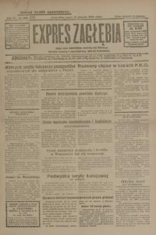 Expres Zagłębia : jedyny organ demokratyczny niezależny woj. kieleckiego. R.4, nr 213 (16 sierpnia 1929)