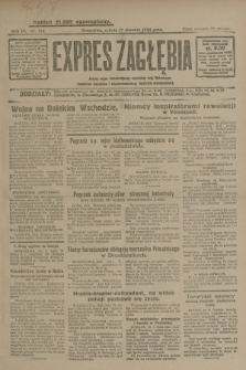 Expres Zagłębia : jedyny organ demokratyczny niezależny woj. kieleckiego. R.4, nr 214 (17 sierpnia 1929)