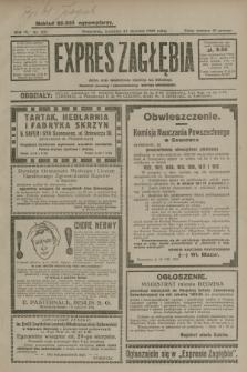 Expres Zagłębia : jedyny organ demokratyczny niezależny woj. kieleckiego. R.4, nr 221 (25 sierpnia 1929)