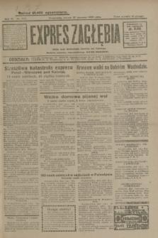 Expres Zagłębia : jedyny organ demokratyczny niezależny woj. kieleckiego. R.4, nr 222 (27 sierpnia 1929)