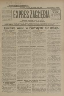 Expres Zagłębia : jedyny organ demokratyczny niezależny woj. kieleckiego. R.4, nr 224 (29 sierpnia 1929)
