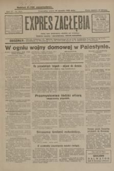 Expres Zagłębia : jedyny organ demokratyczny niezależny woj. kieleckiego. R.4, nr 225 (30 sierpnia 1929)