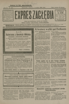 Expres Zagłębia : jedyny organ demokratyczny niezależny woj. kieleckiego. R.4, nr 227 (1 września 1929)