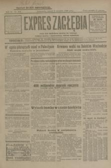Expres Zagłębia : jedyny organ demokratyczny niezależny woj. kieleckiego. R.4, nr 228 (2 września 1929)