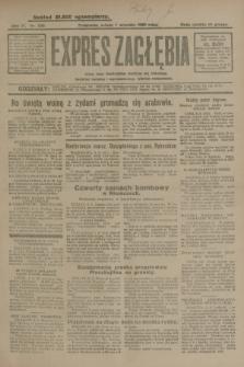 Expres Zagłębia : jedyny organ demokratyczny niezależny woj. kieleckiego. R.4, nr 232 (7 września 1929)